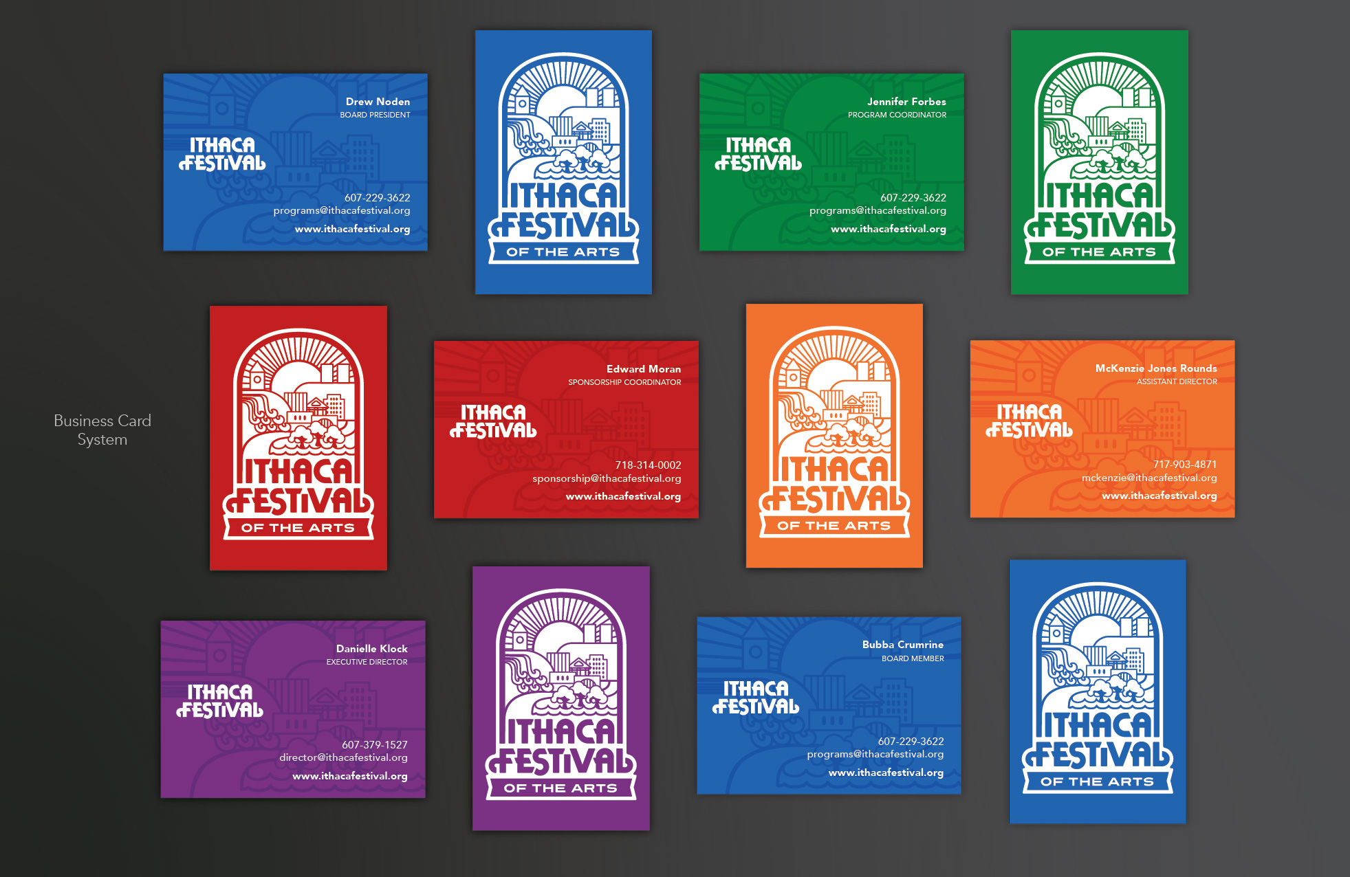 The preeminent arts and music festival in upstate NY, Ithaca festival is an exciting arts festival in upstate NY that had been working with a thirty year old aging identity.