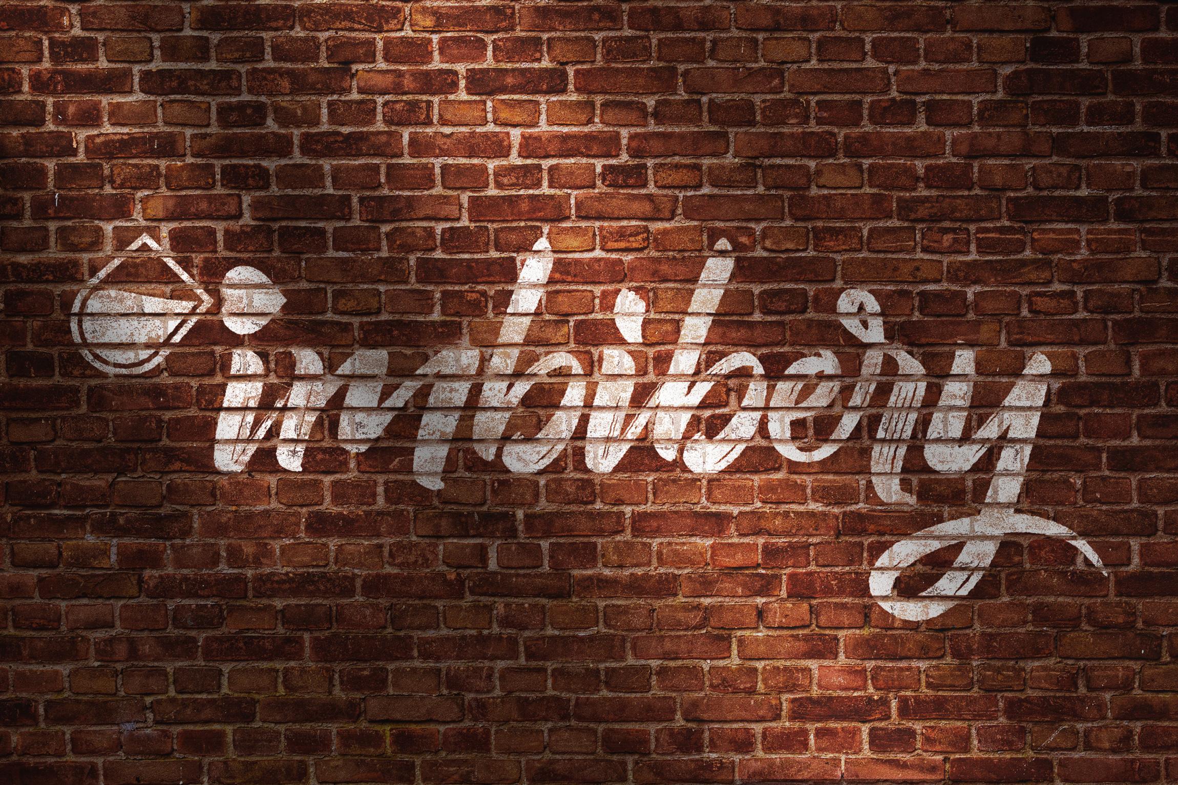*Imbibery - Brick Wall Logo