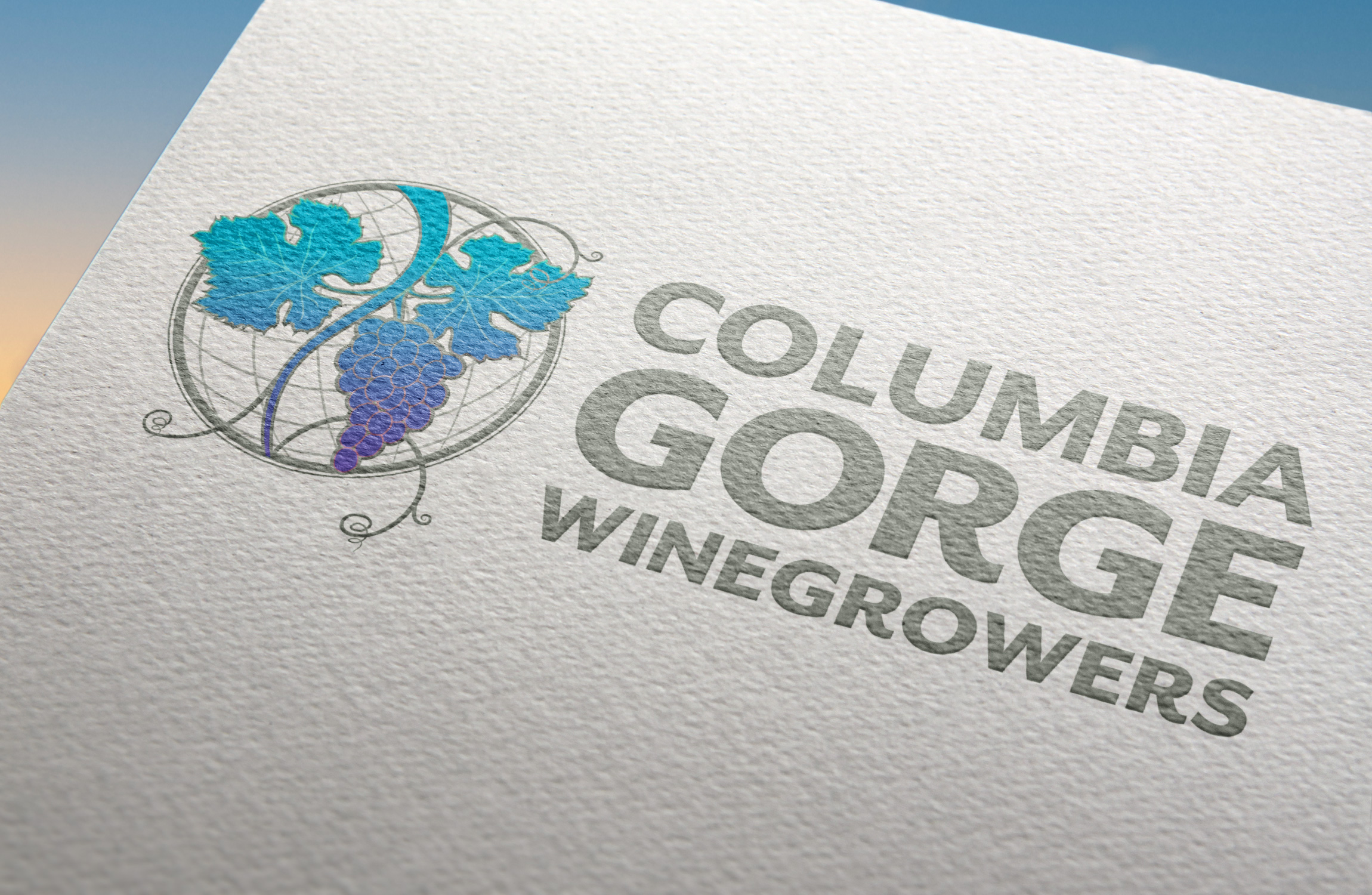 *Columbia Gorge Winegrowers Assoc. Identity
