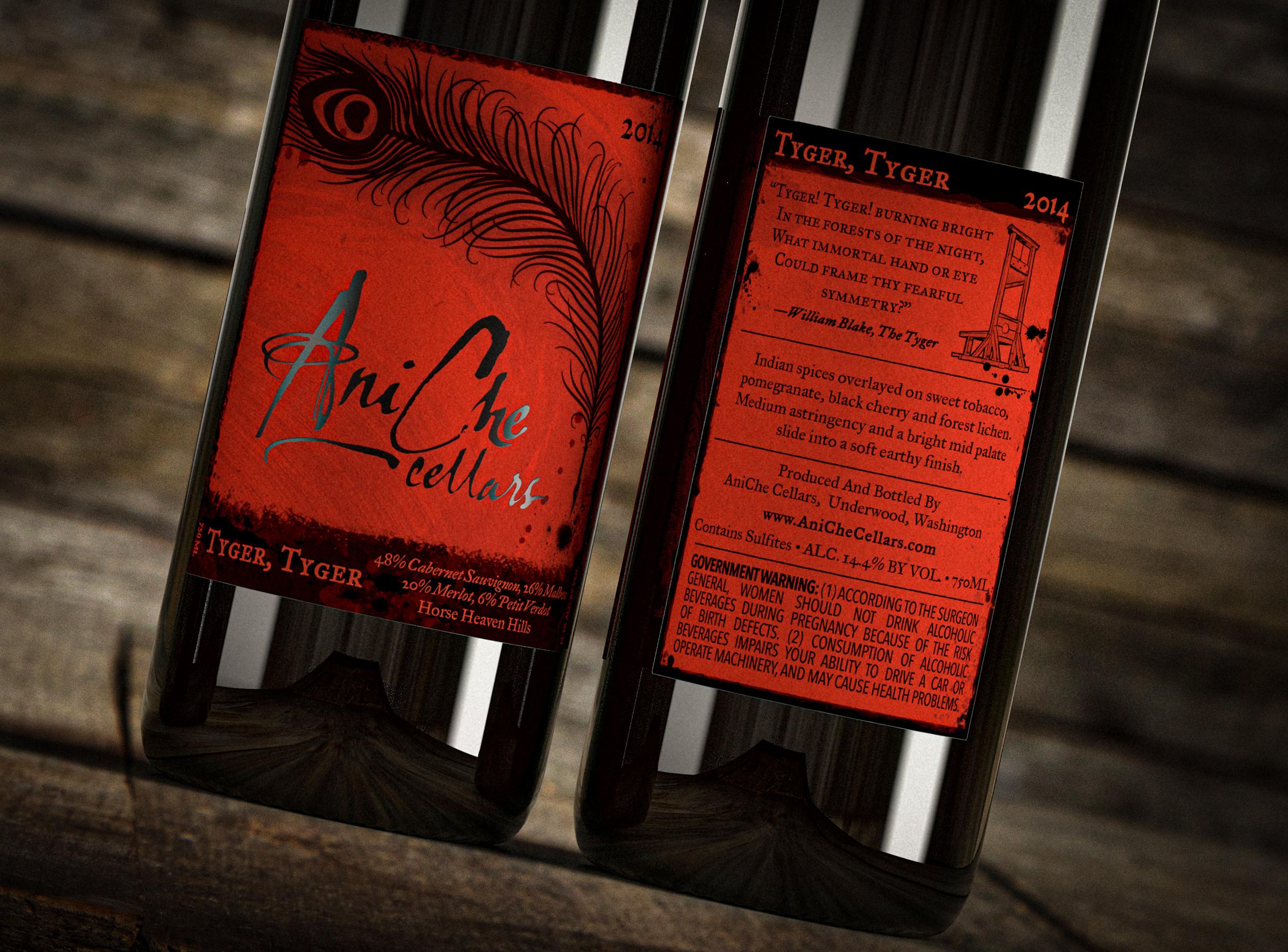 *Aniche Cellars -Original Labels
