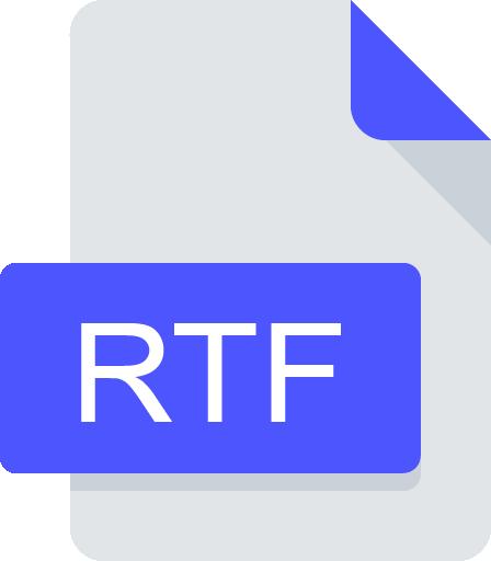 rtf document icon