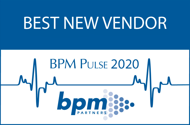 BPM Best new vendor award