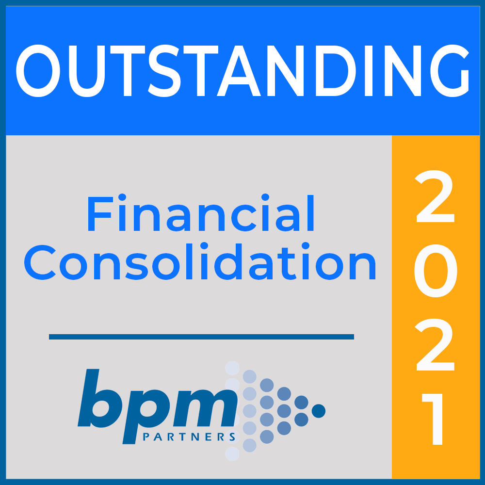 BPM Outstanding Financial Consolidation Award 2021