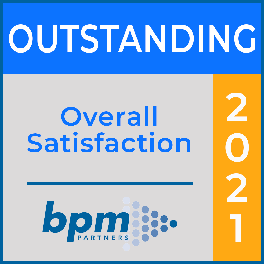 BPM Outstanding Overall Satisfaction Award 2021