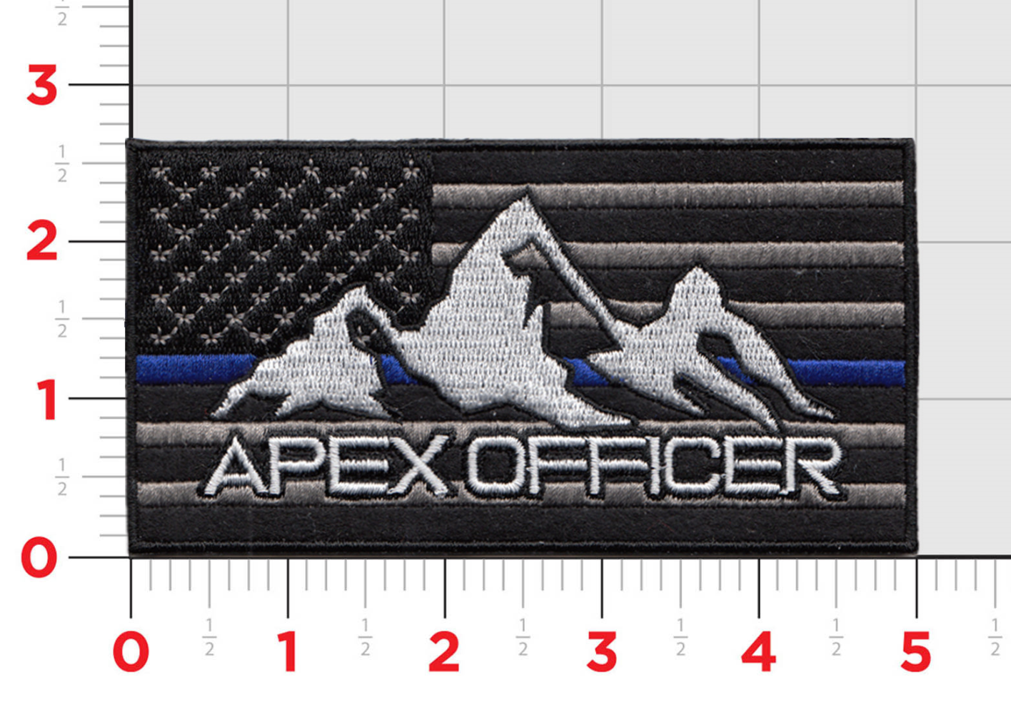 """Apex Officer 5"""" Patch Exchange"""