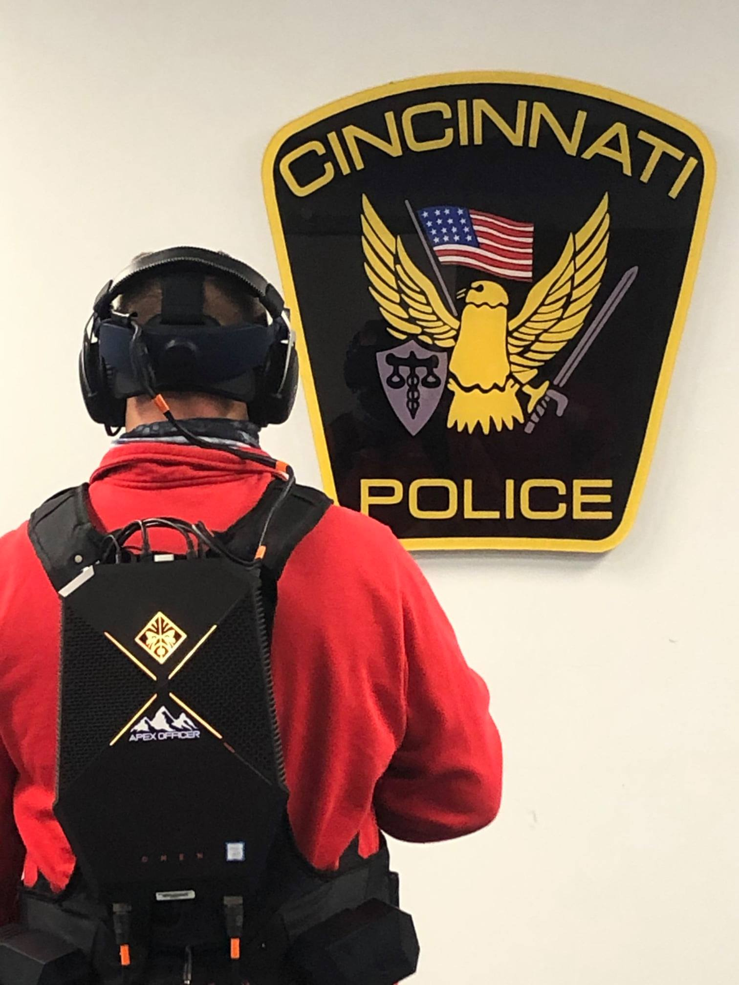 Cincinnati Police Academy Instructor Training Using the Apex Officer VR Simulator