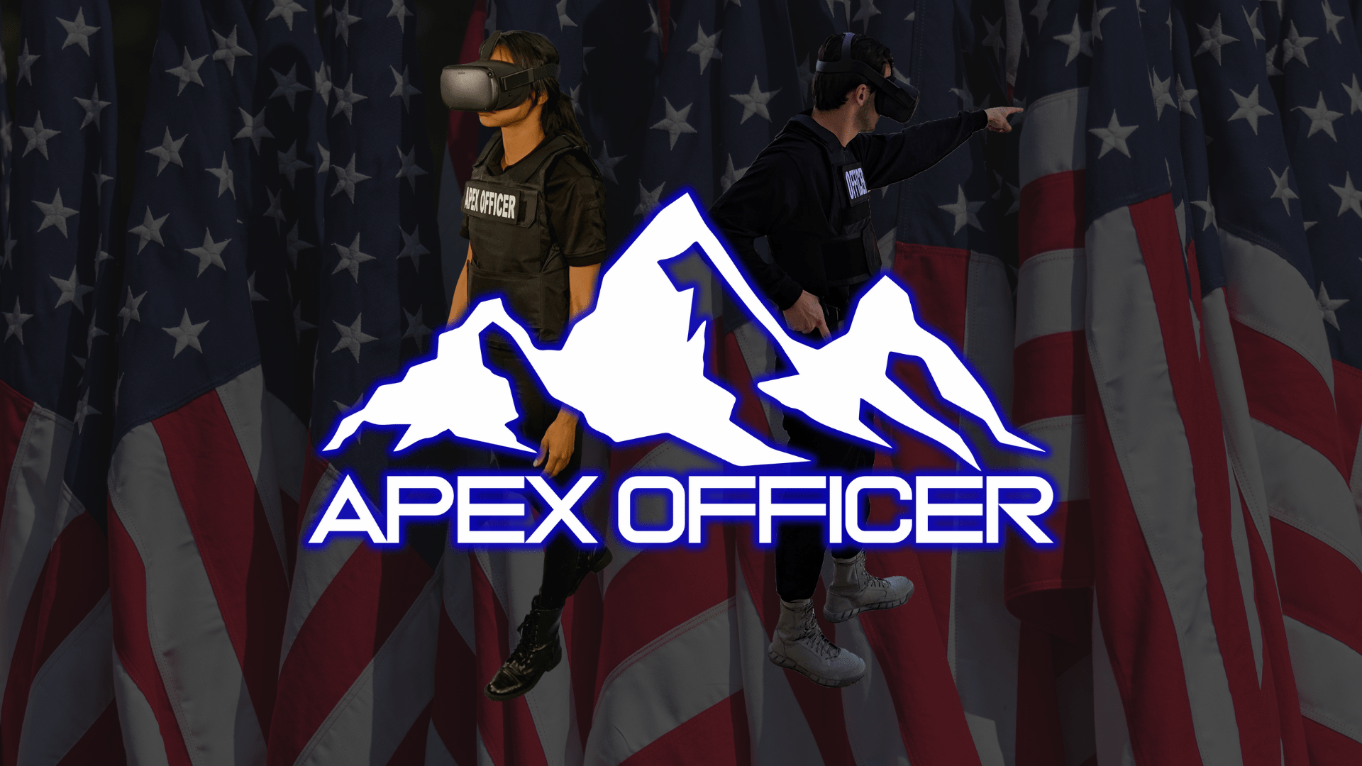 Apex Officer American Flag Wallpaper