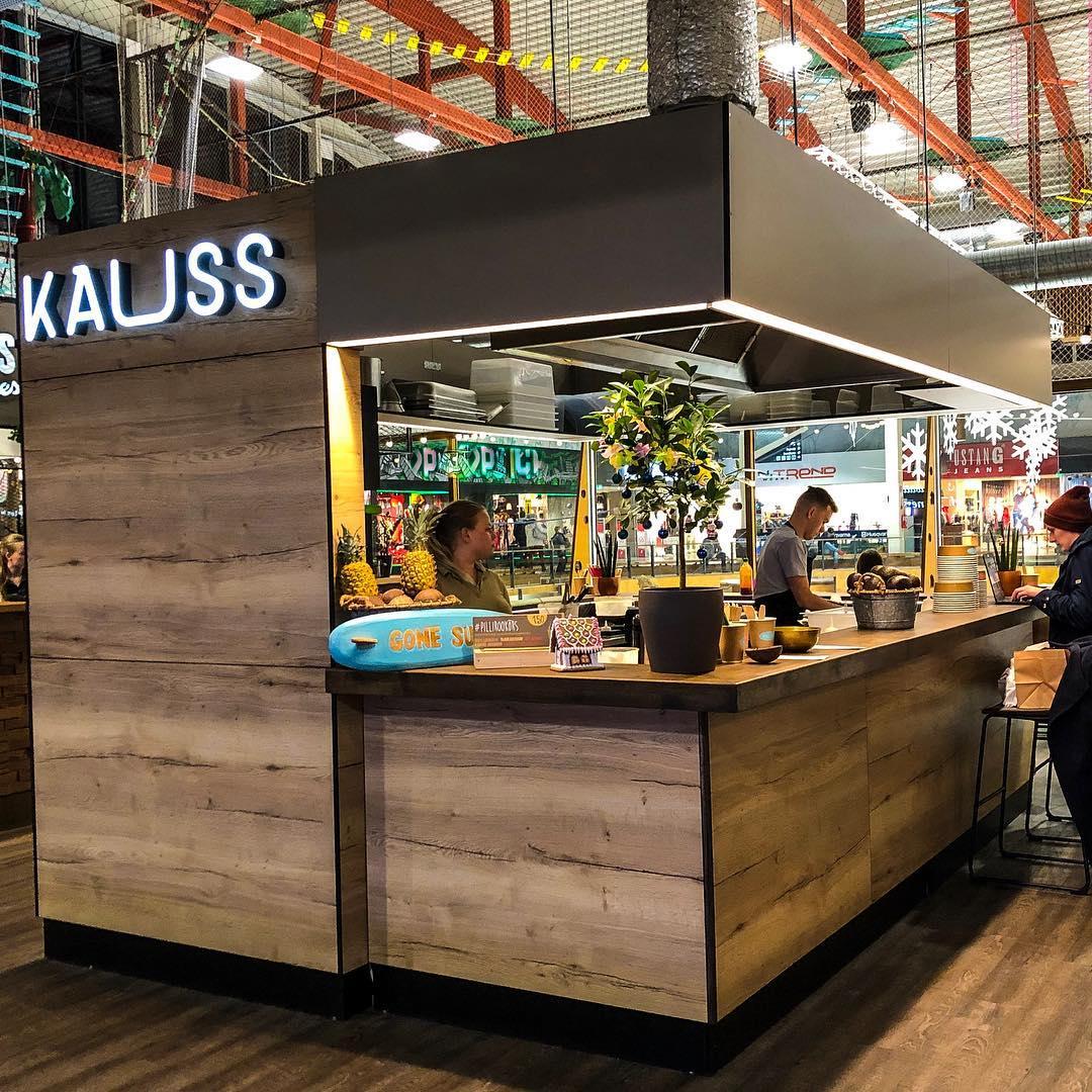 Lõunakeskus takeaway kiosk restaurant location
