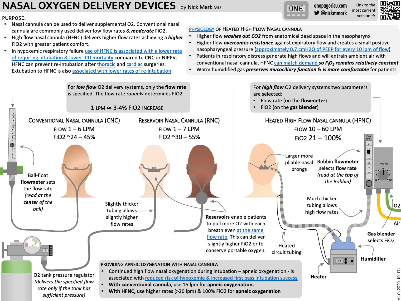 Nasal oxygen delivery services