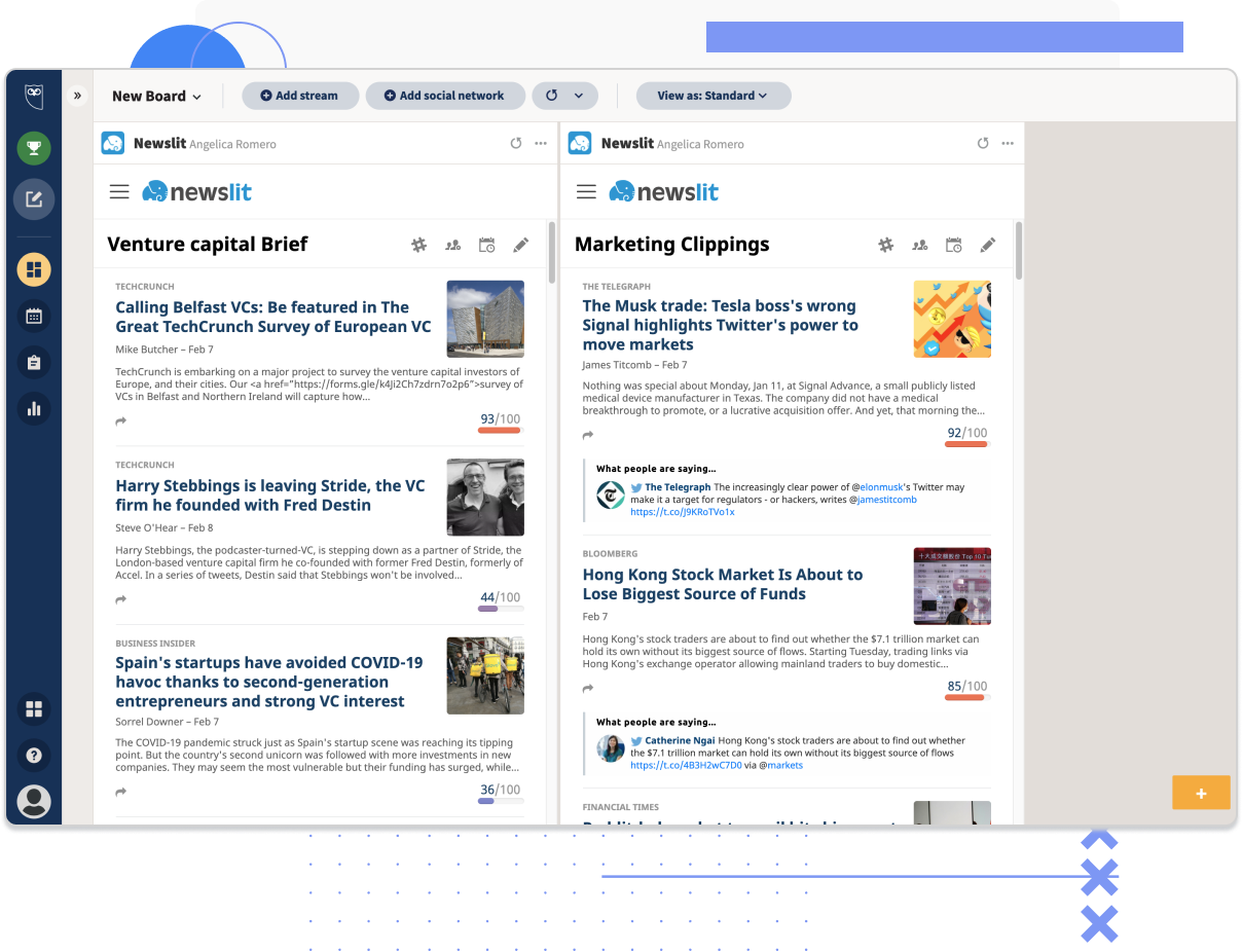 hootsuite-newslit-integration