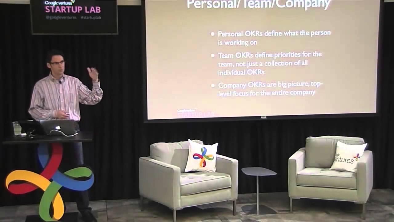 How Google sets goals: OKRs / Startup Lab Workshop