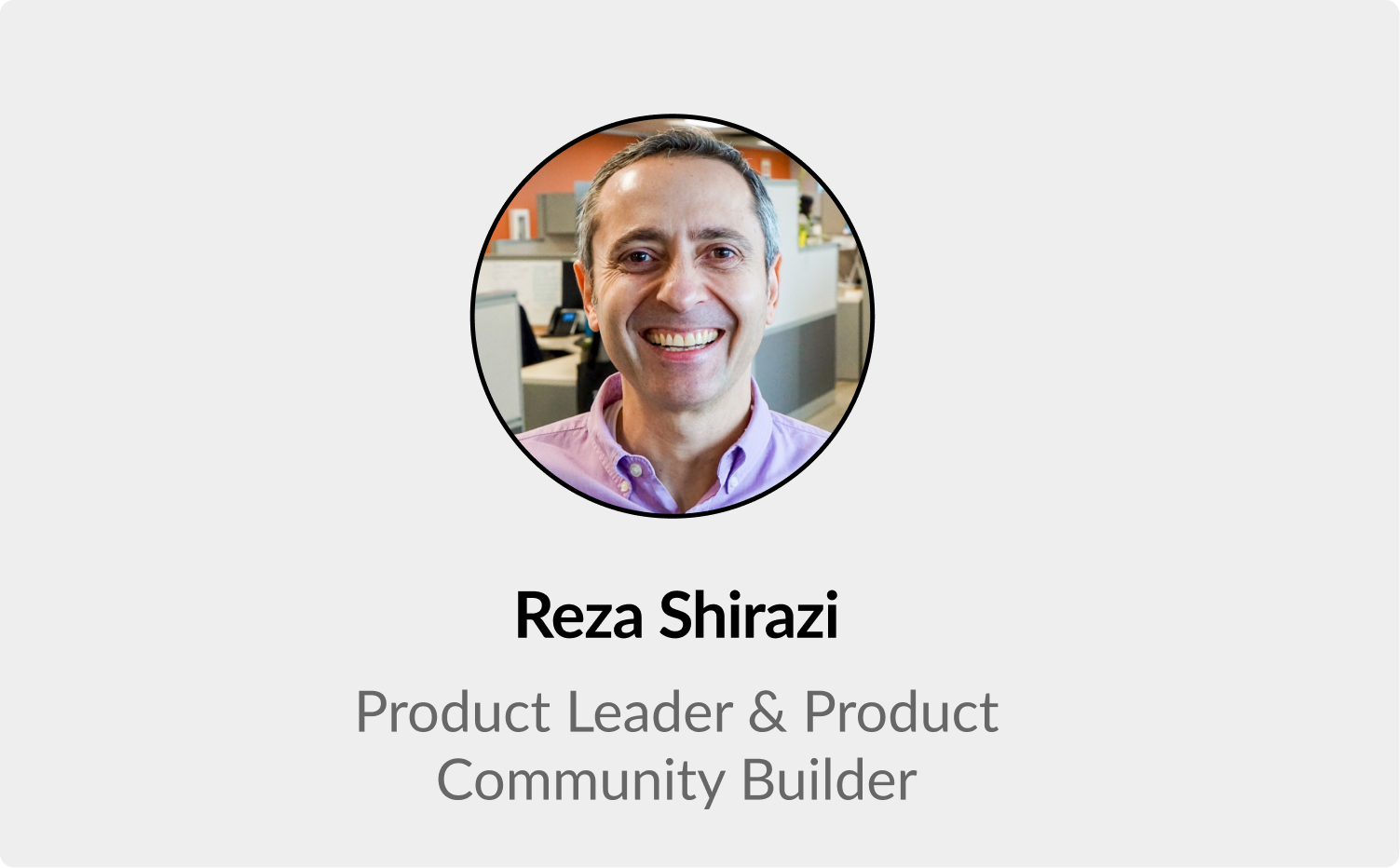 Learnings from 8 years in Product: an AMA with Reza Shirazi