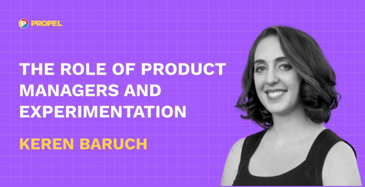 The role of product managers and experimentation