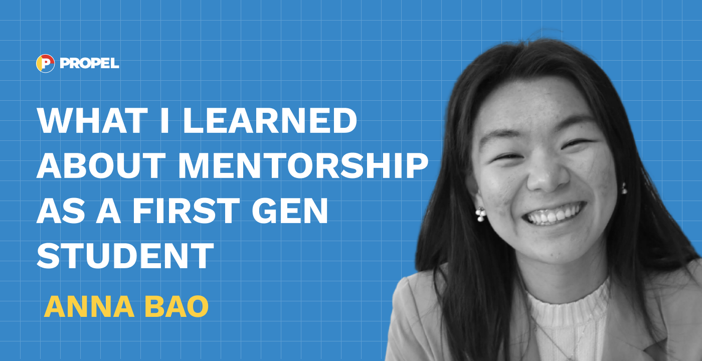 What I learned about mentorship as a first gen student