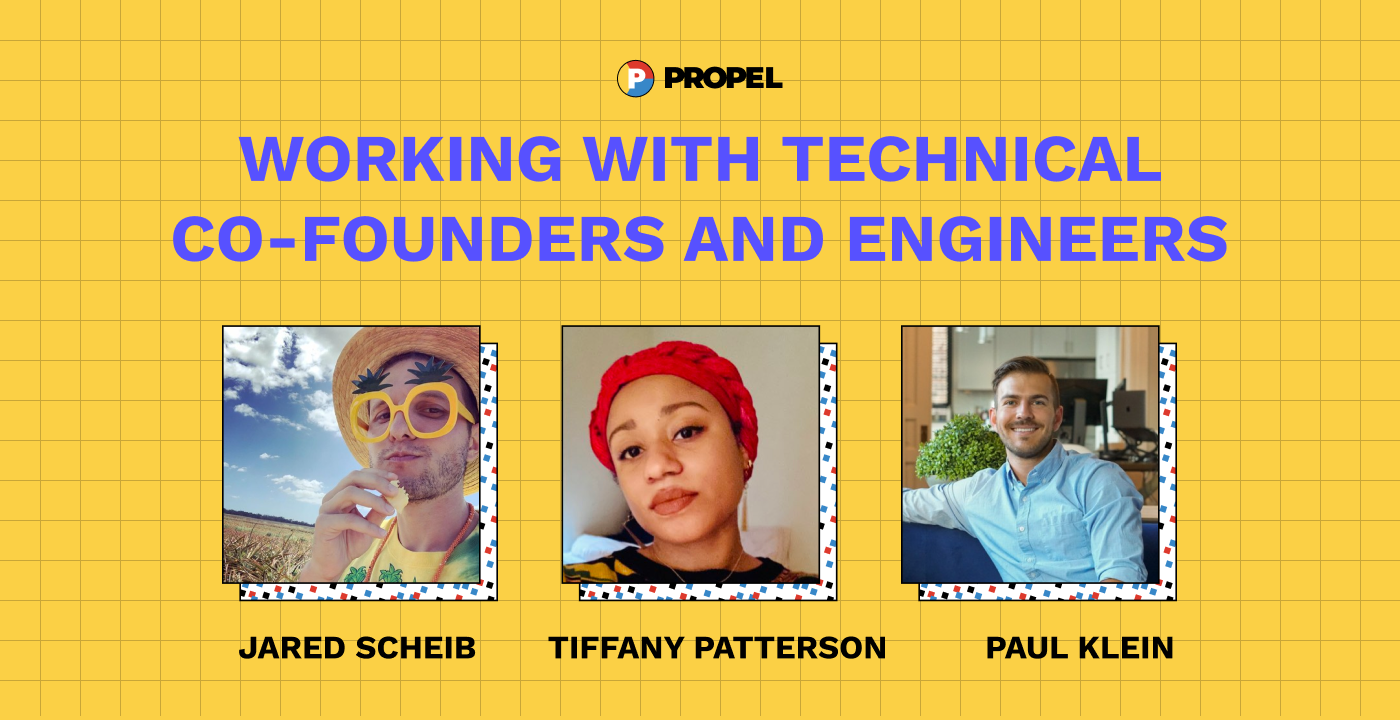 What to know about working with technical co-founders and engineers
