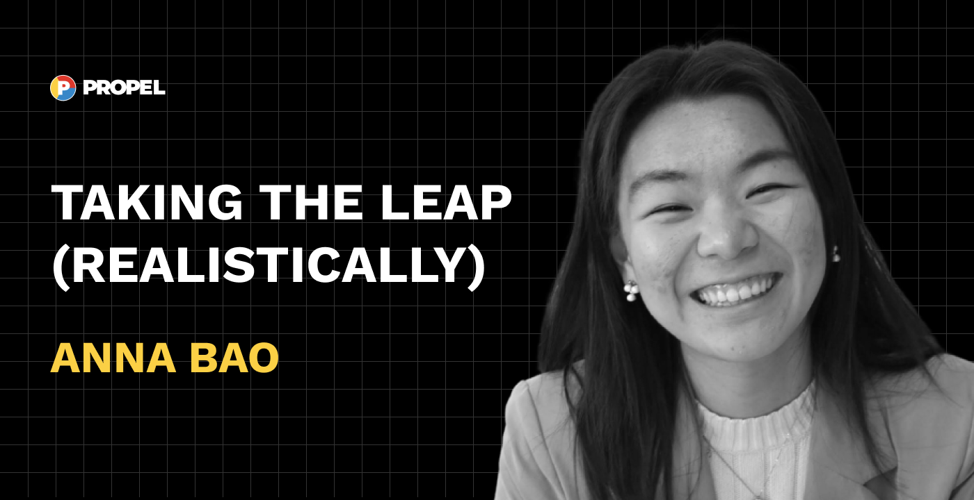 Taking the leap (realistically)