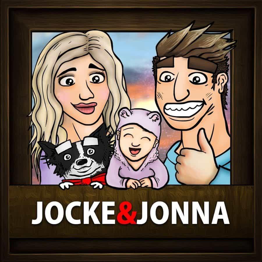 Jocke & Jonna logga