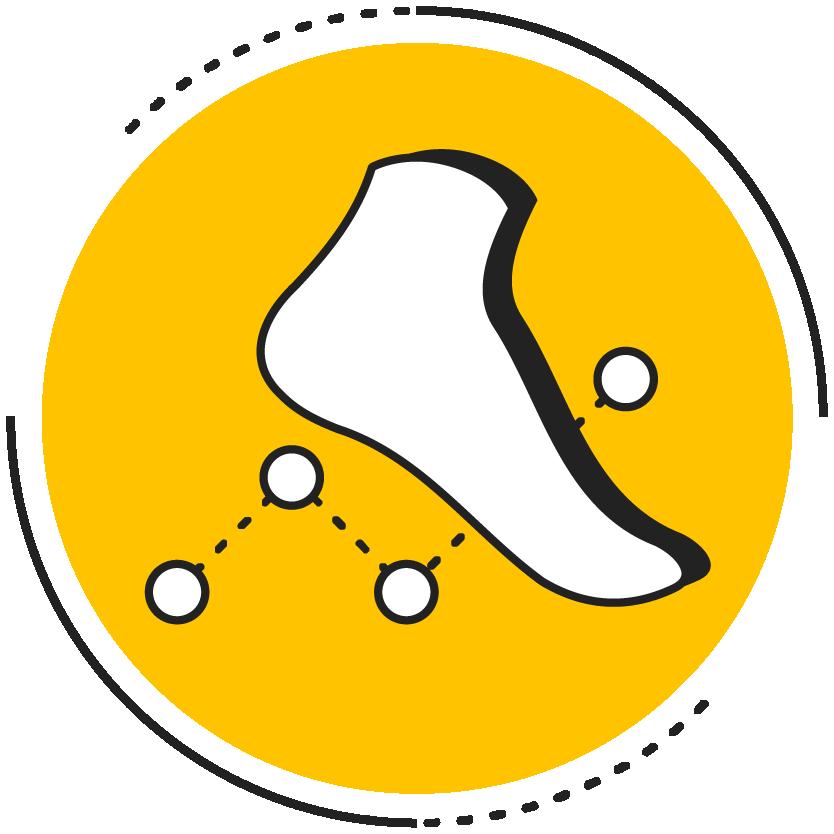 Bringing foot care to footwear