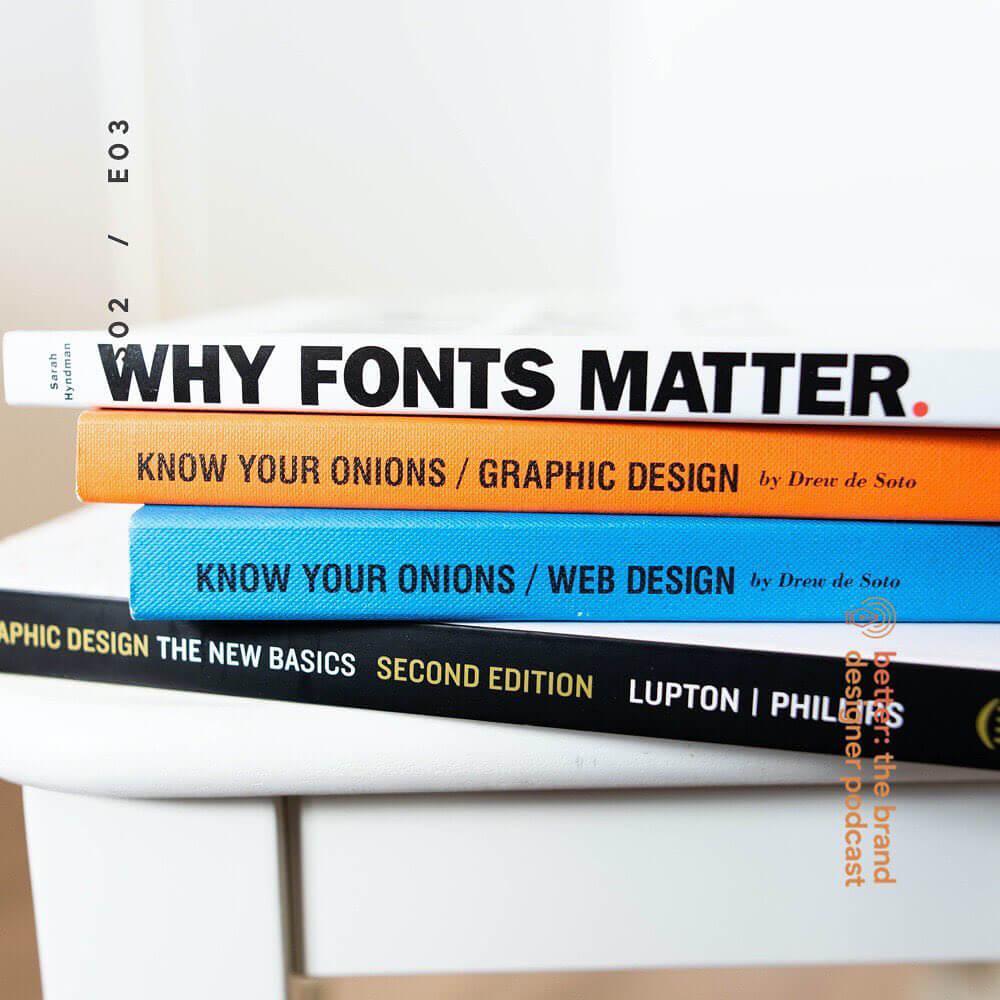 Typography, Typography, Typography!