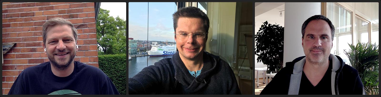 Gitpod Founders: Sven Efftinge, Moritz Eysholdt, Dr. Jan Köhnlein