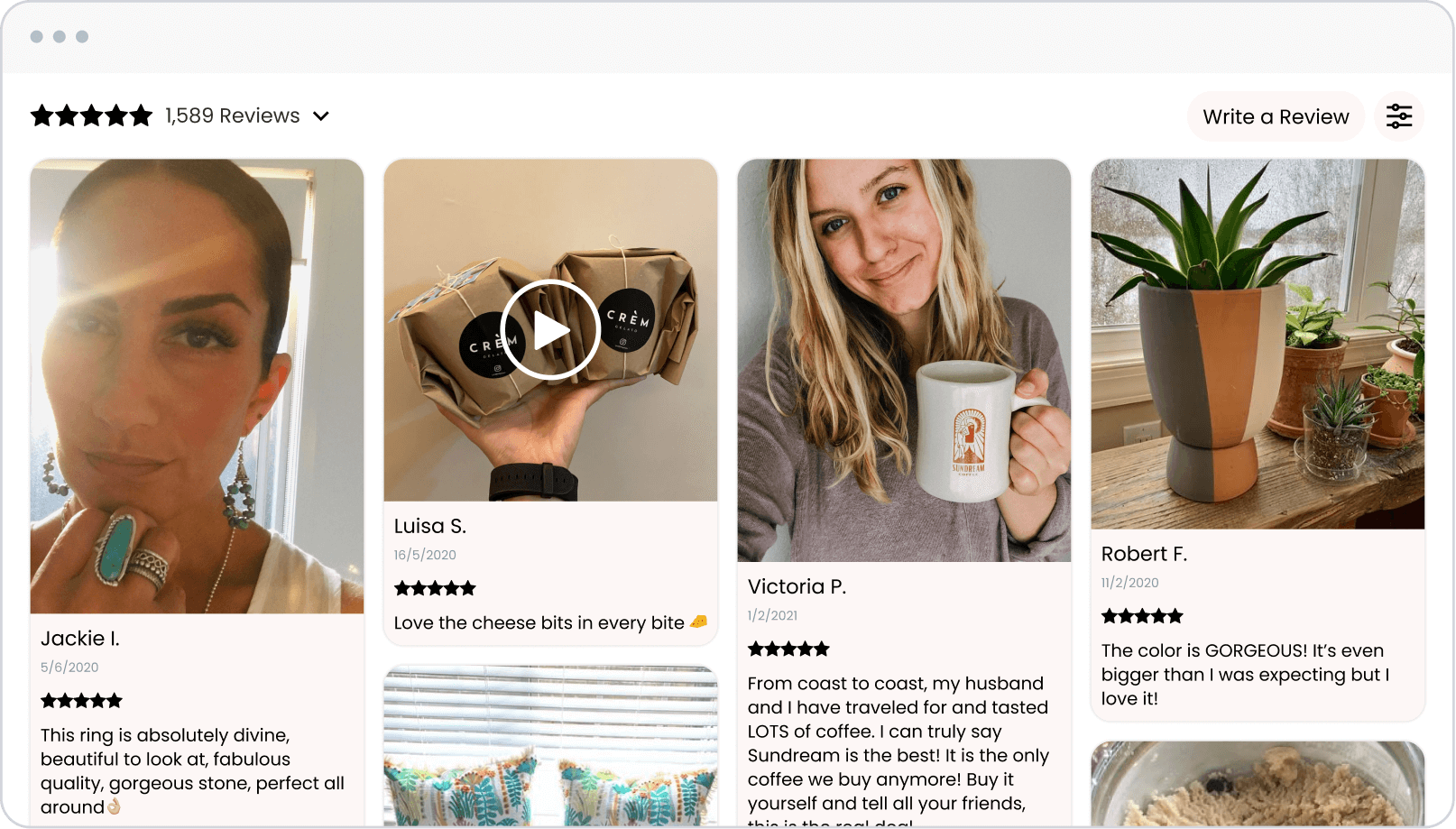 Loox reviews widget
