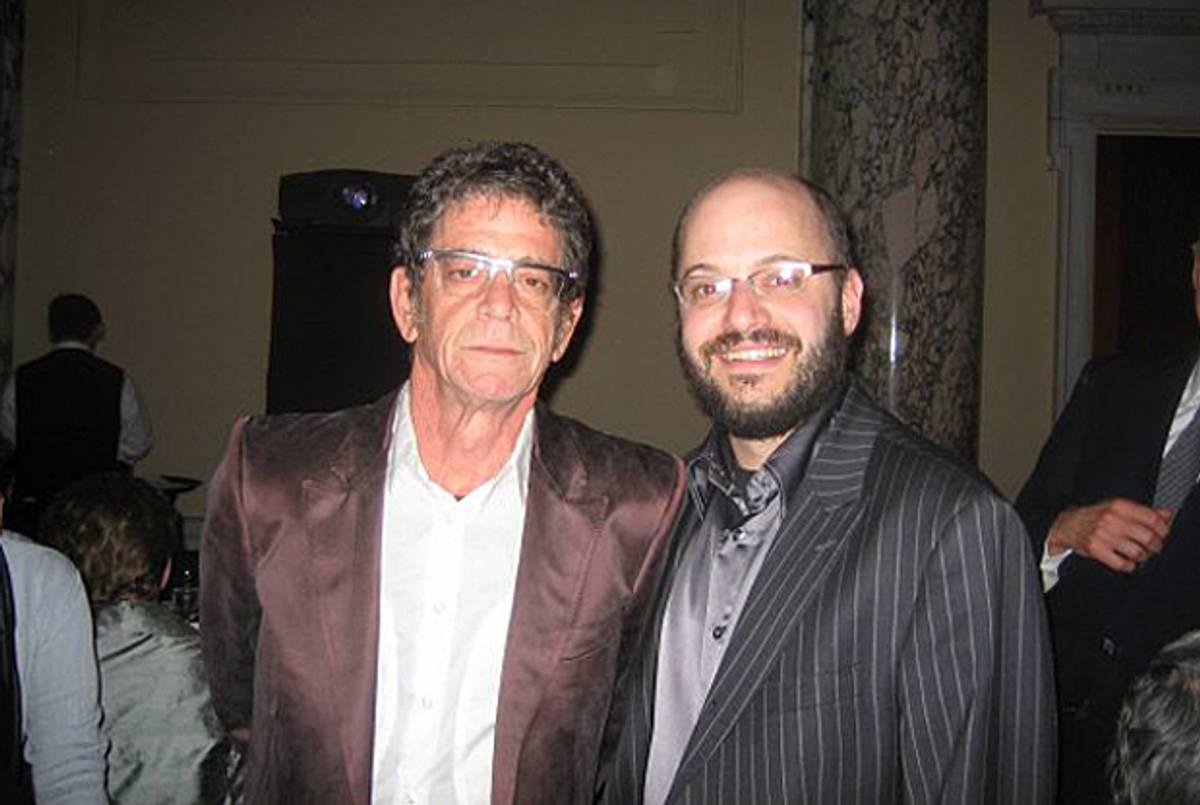David Yaffe and Lou Reed