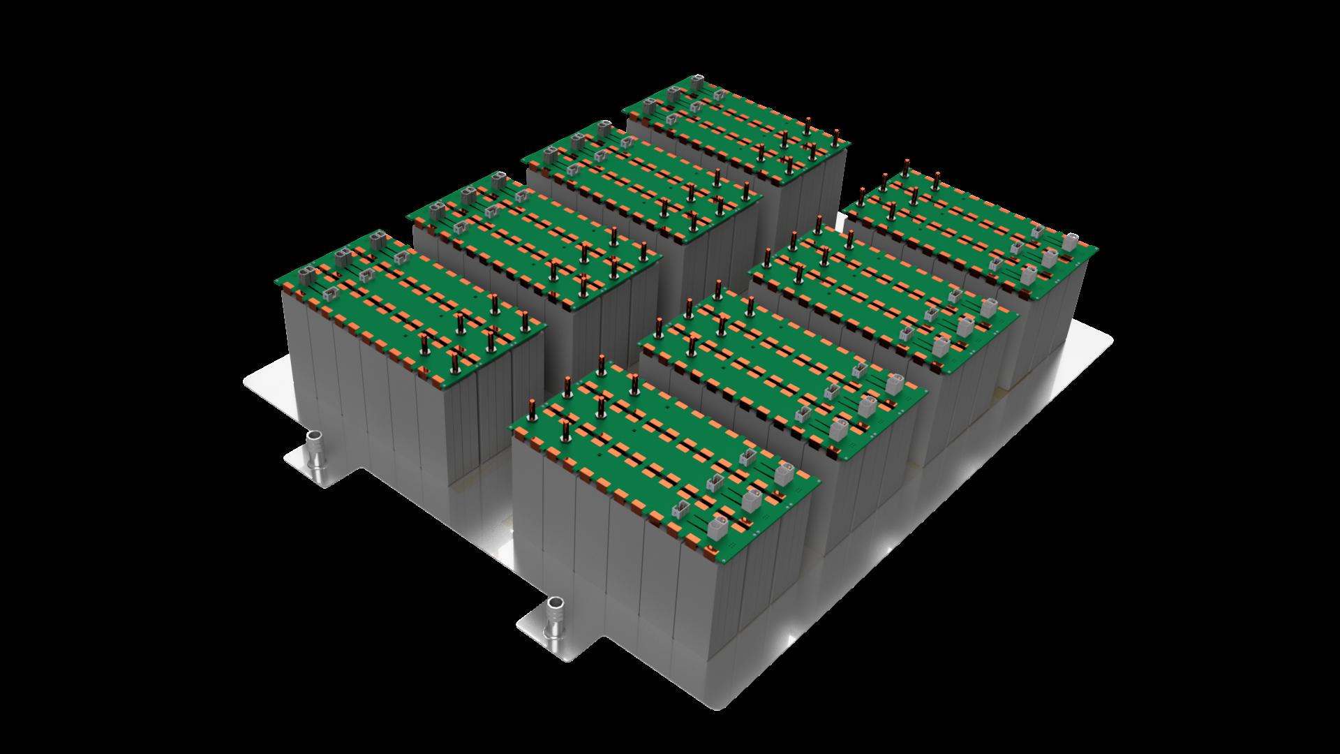 Using generative design to develop a modular battery pack