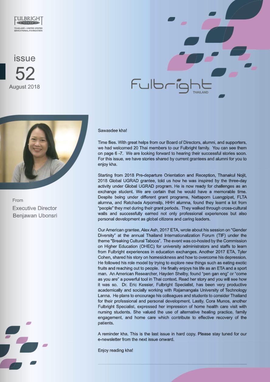 Newsletter 52