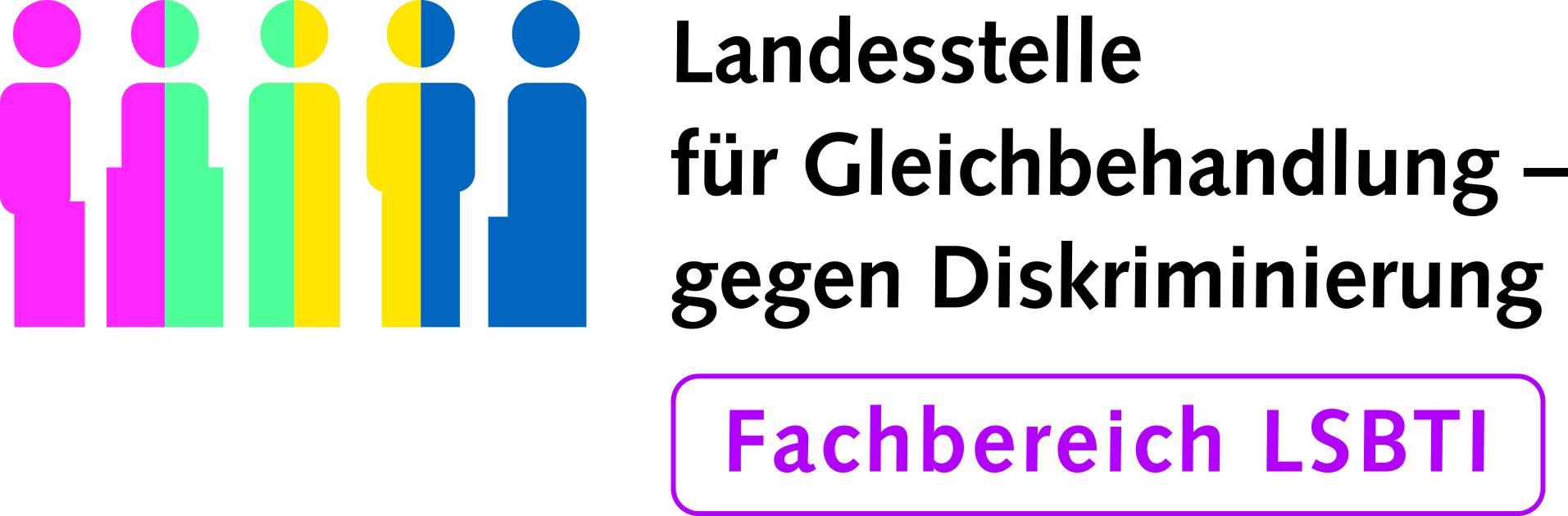 Logo der Landesstelle für Gleichbehandlung – gegen Diskriminierung, Fachbereich LSBTI