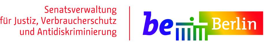 Logo der Senatsverwaltung für Justiz, Verbraucherschutz und Antidiskriminierung Berlin