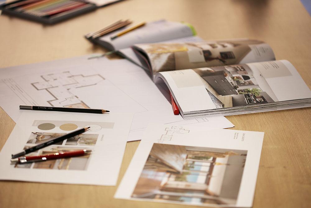 Imagen del proceso de trabajo en Delblanch