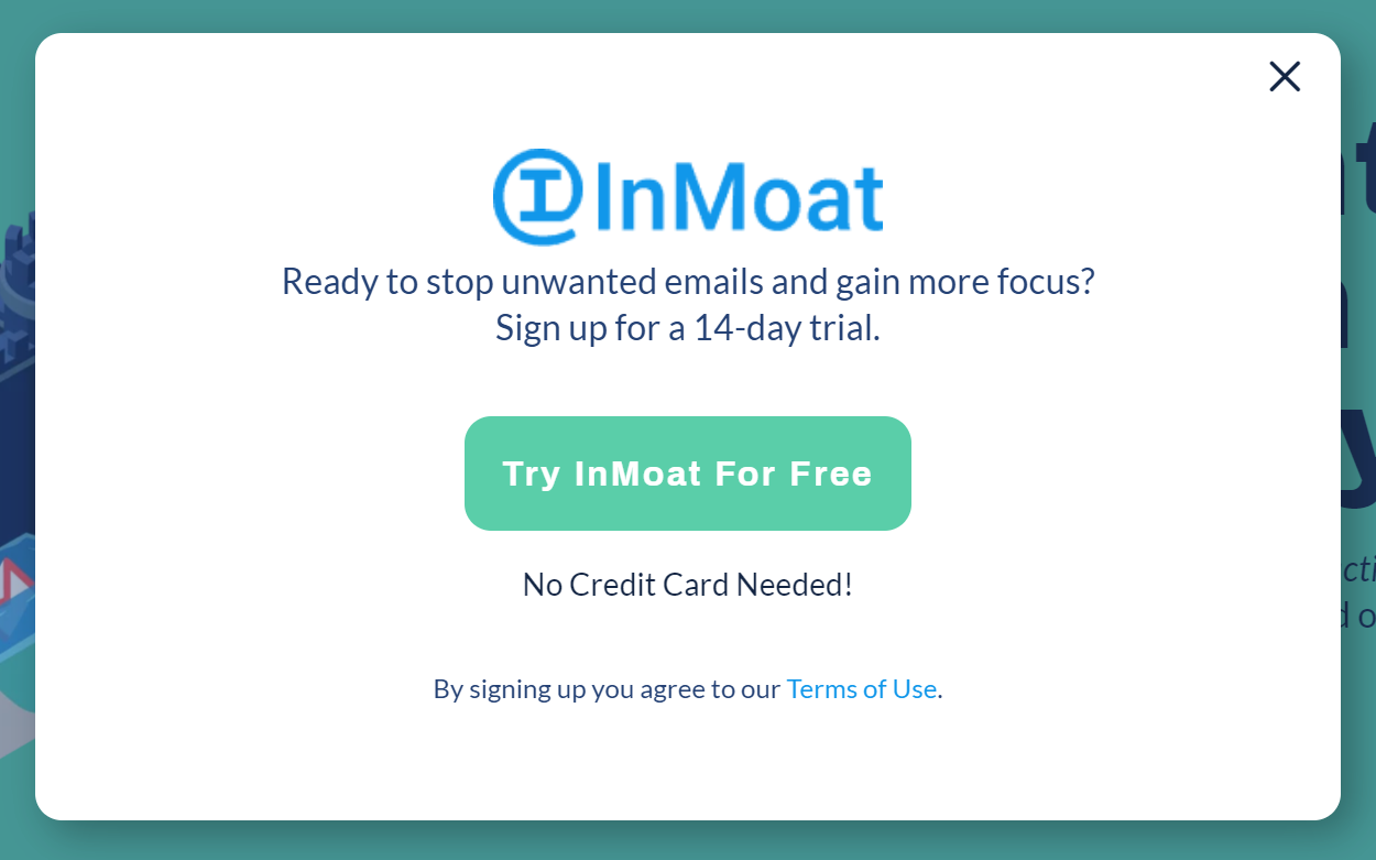 Try InMoat for 14 Days Risk Free