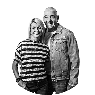 Ps Paul and Maree de Jong from LIFE