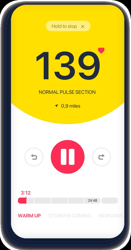 Stopwatch mobile app