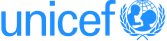 Our clients include section: Unicef logo