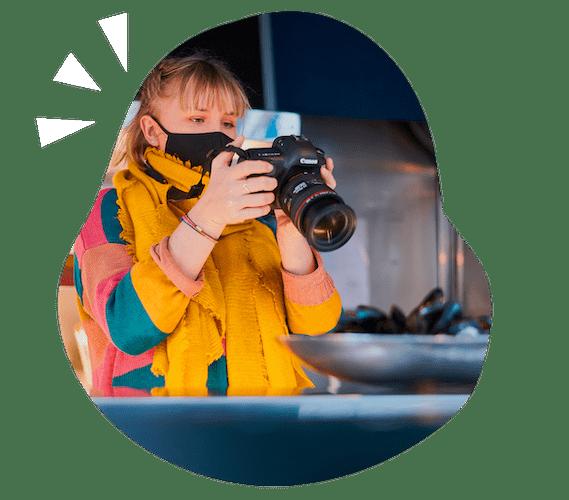 Shooting photo en cusine par notre photographe, Talk.