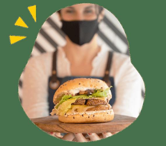 Restauration Talk, présentation d'un Burger.