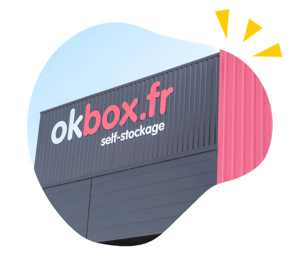 Devanture Okbox self-stockage