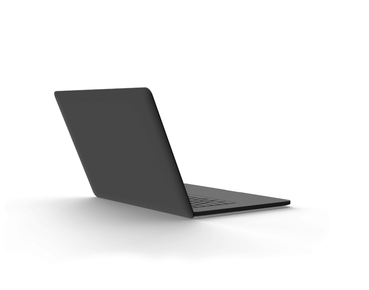 Laptop with data