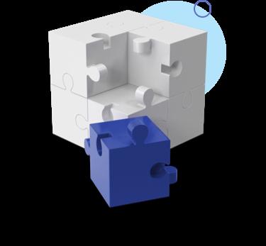 Blue Cube Block