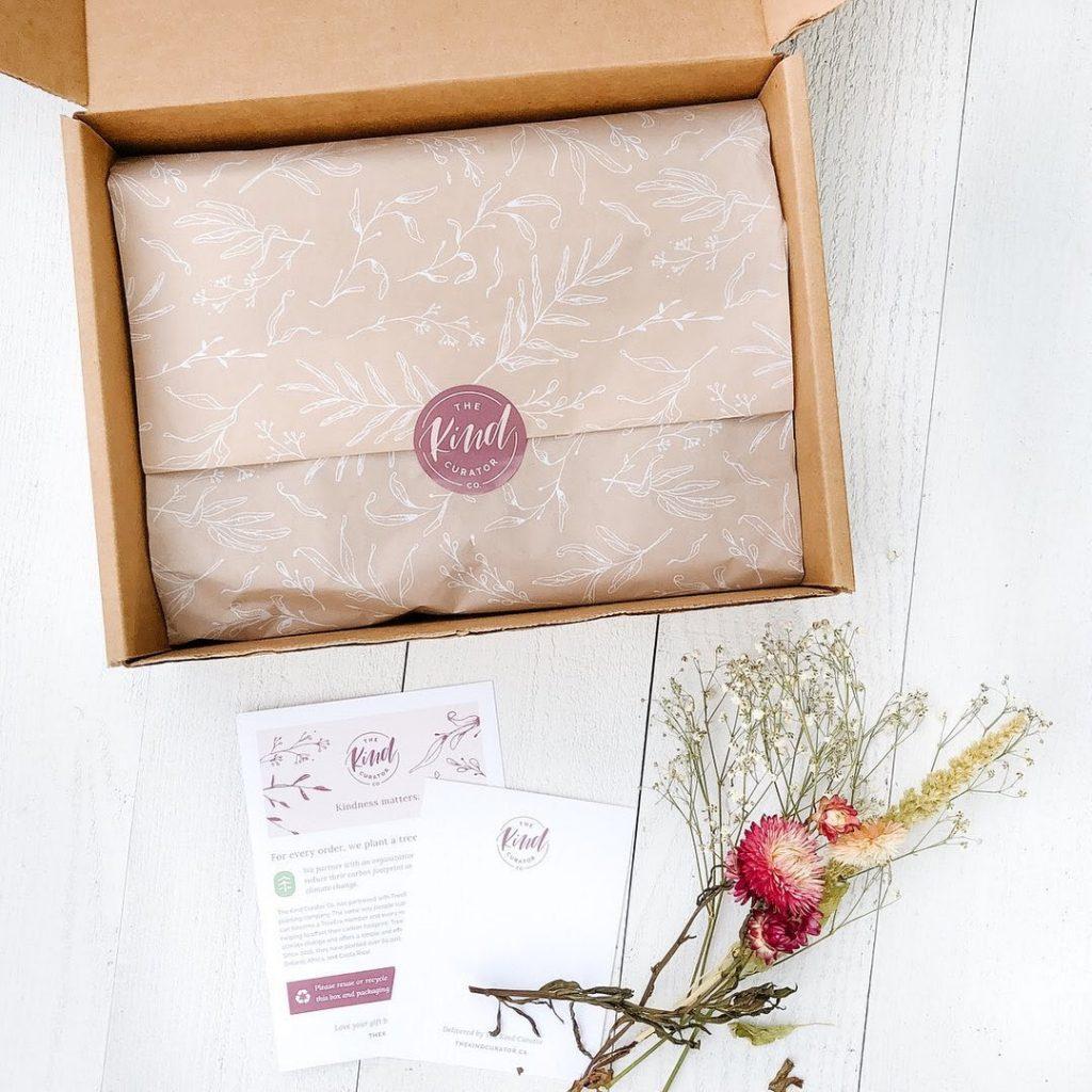 the kind curator custom packaging