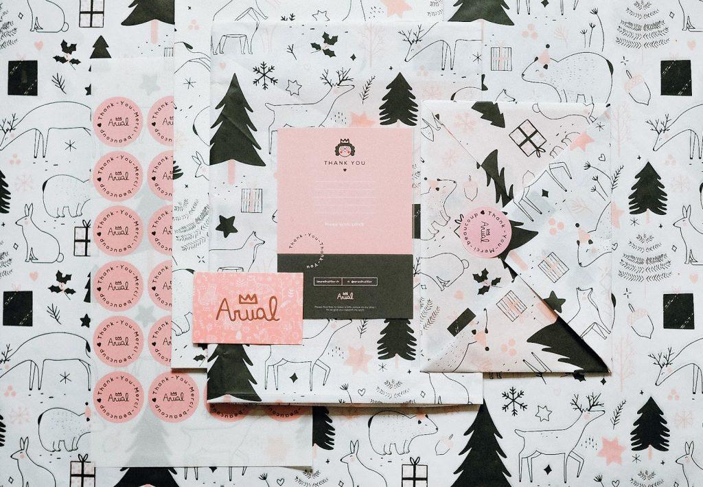 Laura Lhuillier custom packaging