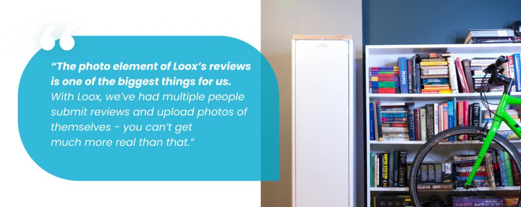 Loox grobo product reviews