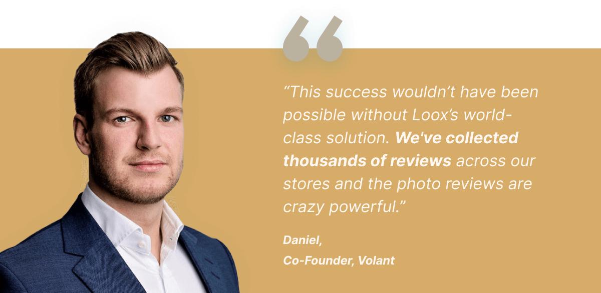 Volant Co-Founder Daniel Quote