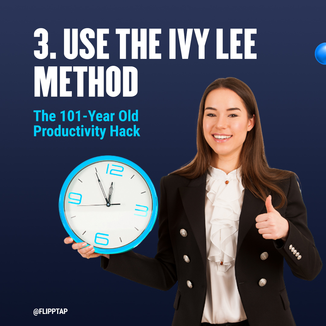 """Image of """"Use the Ivy Lee Method"""""""