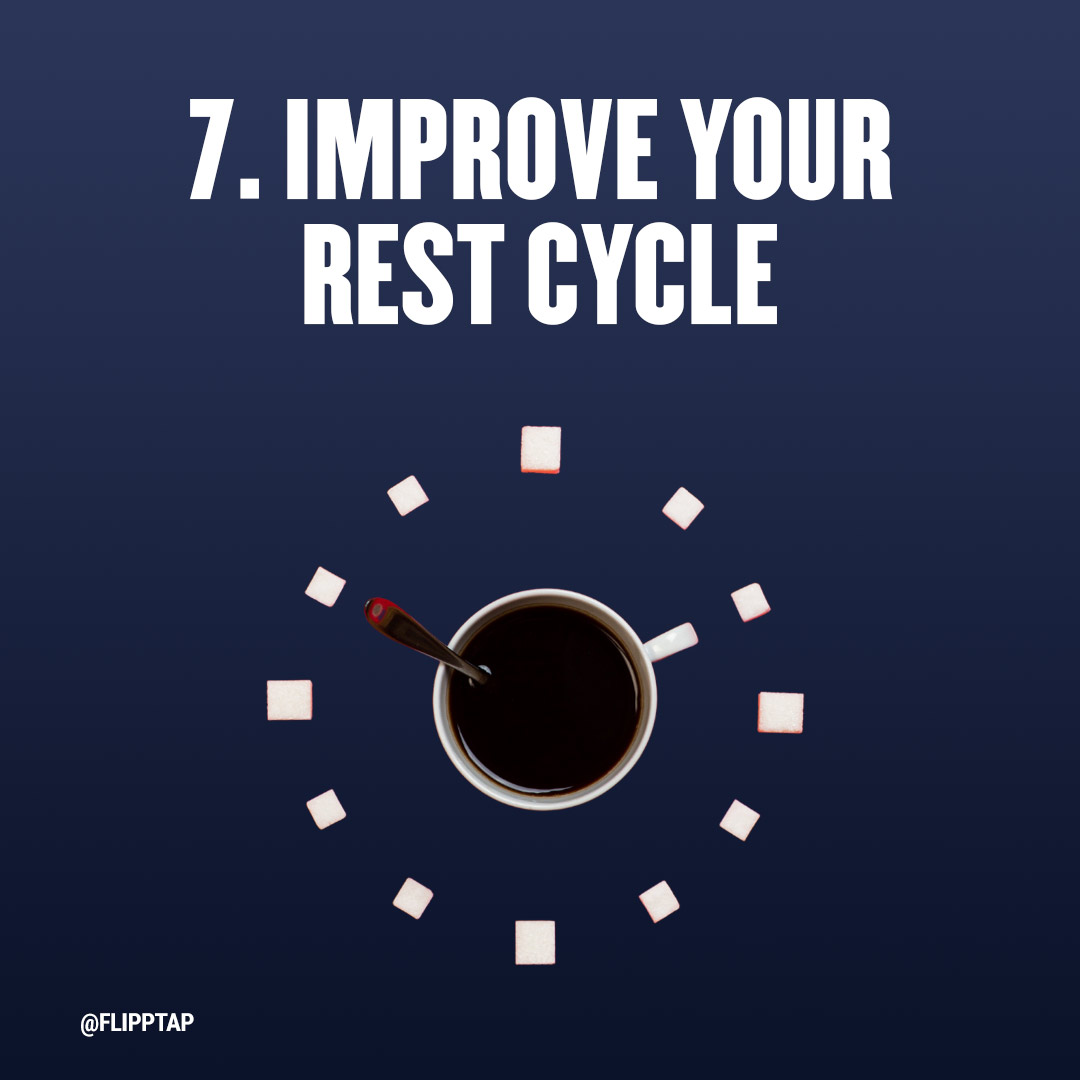 """Image of """"Improve your rest cycle"""""""