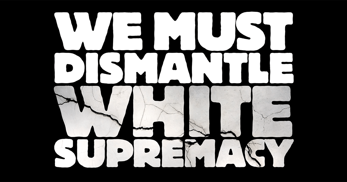 Image result for ben and jerry's we must dismantle white supremacy