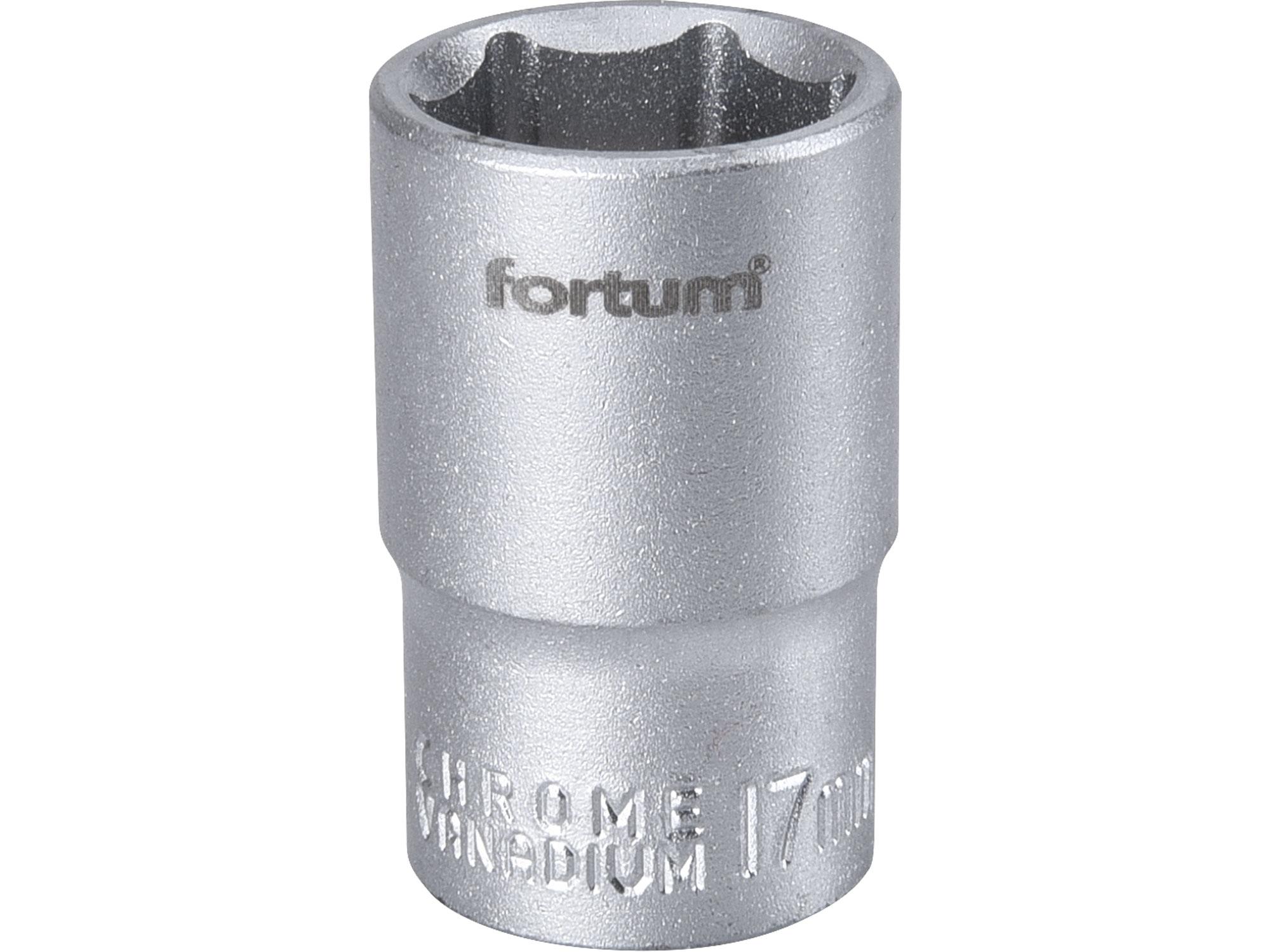 """hlavice nástrčná 1/2"""", 17mm, L 38mm"""