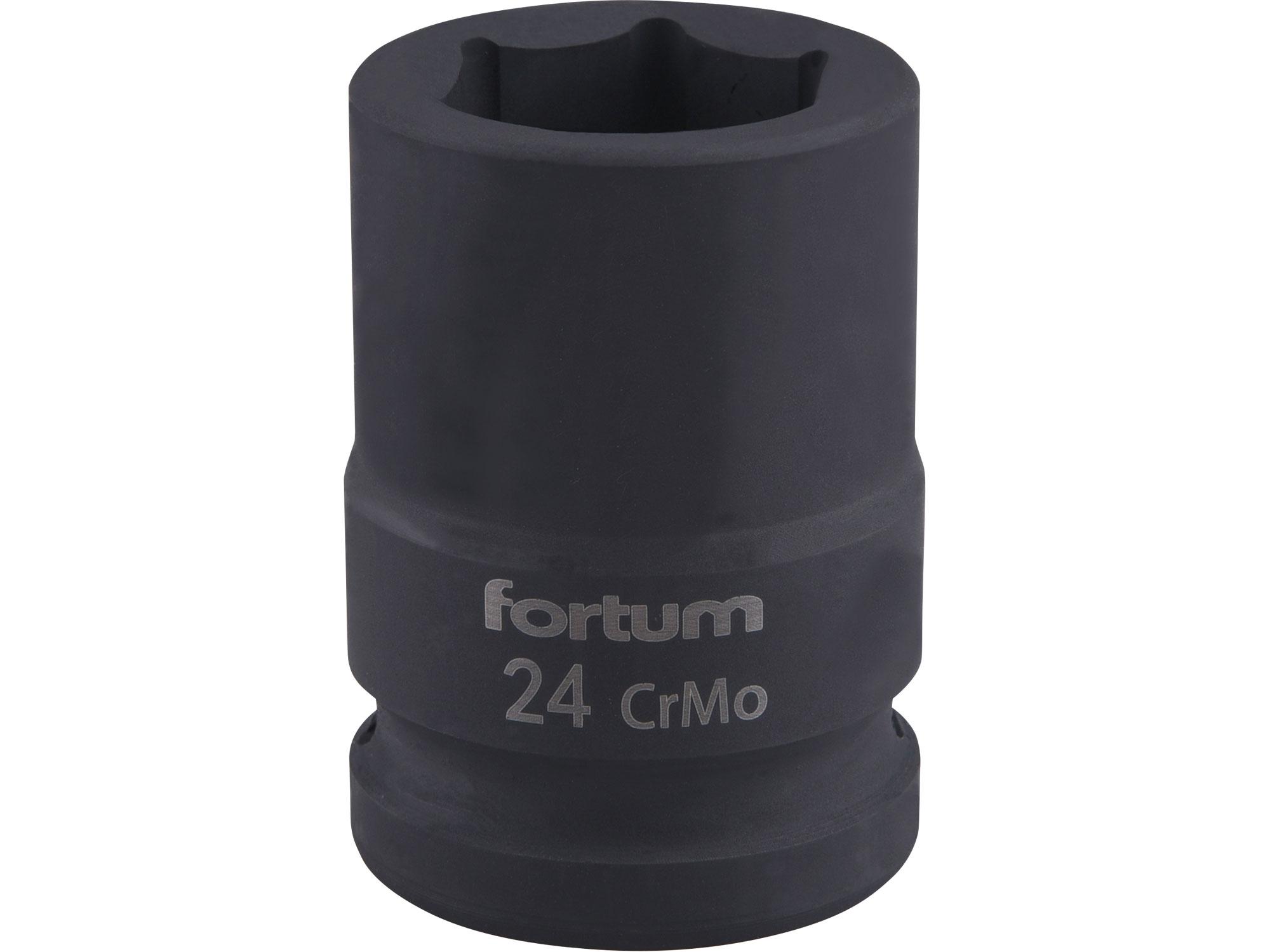 """hlavice nástrčná rázová 3/4"""", 24mm, L 52mm"""
