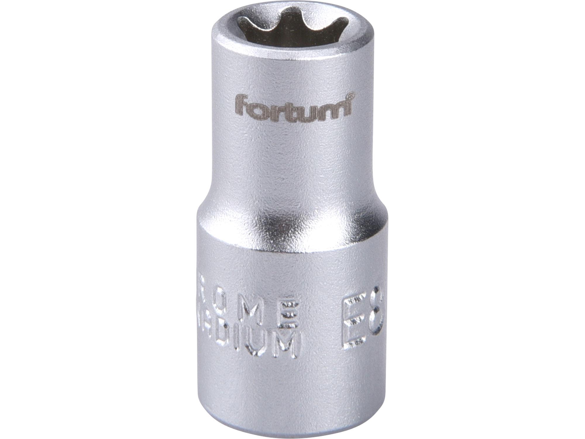 """hlavice nástrčná vnitřní TORX 1/4"""", E 8, L 25mm"""